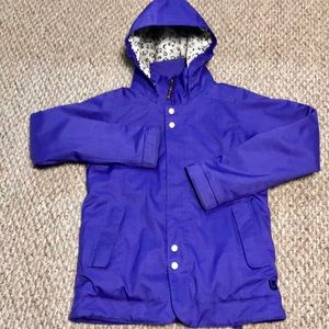 Burton Dry Ride Purple Coat